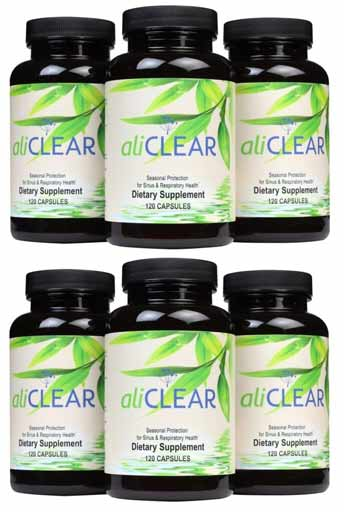 AliClear - 6 Month Supply (Buy 4 Get 2 Free*)
