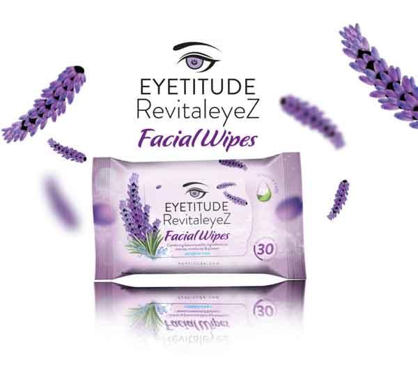 Eyetitude RevitaleyeZ 4in1 Facial Wipes