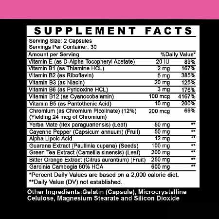 Angry Supplements Hot & Skinny Thermogenic Weight Loss Aid
