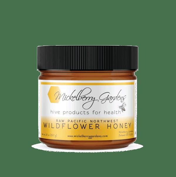302 Raw Pacific Northwest Wildflower Honey 20 oz
