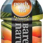 BARE NATURE Vitamin Iced Tea – Peach (Pack of 12, 20 FL OZ bottles) 1