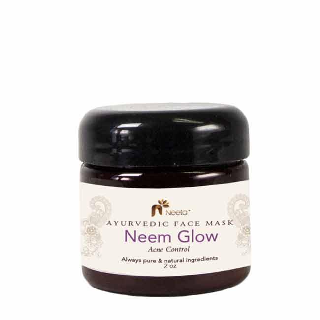 Neeta Naturals Ayurvedic Acne Control Face Mask Neem Glow