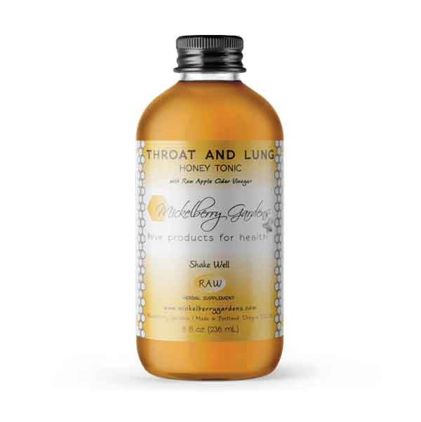 106 Throat & Lung Honey Tonic 8 oz