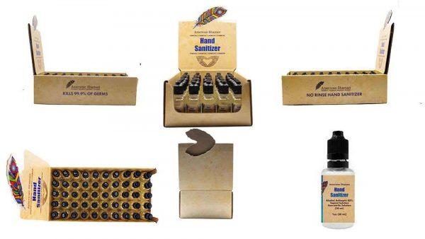 Hand sanitizer - 50ct w/Display Case