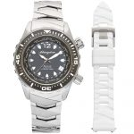 1 Abingdon Marina Belize Black Mother-of-Pearl Titanium Analog Automatic World Timer Dive Watches for women copy