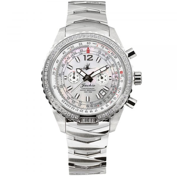 ackie-Dreamy-White-Mother-of-Pearl-Steel-Analog-Quartz-Chronograph-Watch