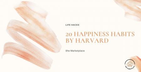 20 Happiness habits by harvard